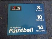 20 Paintball tickets {IPG} international paintball group