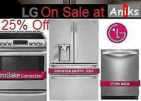 lg kitchen package deal on sale now at aniks appliances