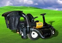 NEW PECO POWER ASSIST TWIN BAGGER FOR Z FORCE COMMERCIAL MOWER