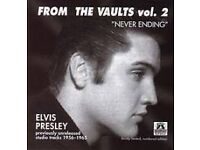 ELVIS FROM THE VAULTS VOL. 2 (Memory Records 2002) (Released 2000) CD
