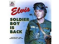 ELVIS SOLDIER BOY IS BACK (Memory Records 2005) (Released 2000) CD