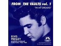 ELVIS FROM THE VAULTS VOL. 1 (Memory Records 2001) (Released 1999) CD