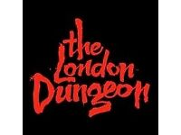 London Dungeon - x2 Tickets Any Date