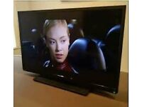 """EXCELLENT 40""""TECHNIKA HDMI FREEVIEW TV WITH BOX"""