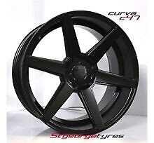 """Ford 20"""" staggered wheels Tyres package Rockdale Rockdale Area Preview"""