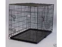 Large Double Door Dog Cage