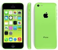Mint iPhone 5c green 8gb on Fido with outter box case