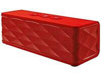 Trust Jukebar Wireless Speaker, Bluetooth - Red