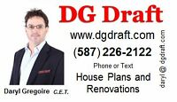 DG Drafting Services - 25 Years Experience - Reasonable Prices !