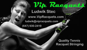 Tennis Racquets Stringing