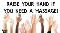 all you need is .. MASSAGE