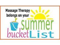 Qualified Massage Therapist, offering Holistic Massage, Sports Massage and Reflexology