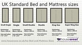 Mattresses,all sizes,£20.00 to £75.00