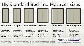 Mattress,all sizes,£20.00 to £75.00