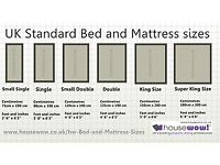 Mattresses,all sizes,,£20.00 to £65.00