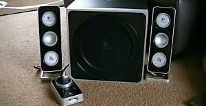 speakers dordi logitech z4 excellente condition