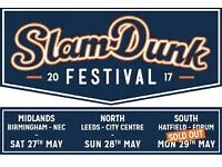 Slam Dunk Festival 2017 South (29th May) - 1 Ticket