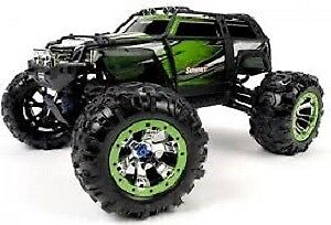 Traxxas Summit RTR 4WD Monster Truck Green with TQi