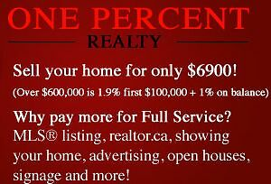 ONE PERCENT REALTY: What We Do For YOU (Short Video)