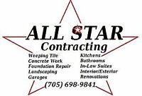 Contracting Services At Great Prices !