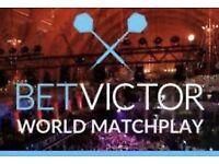 World Matchplay Final Tickets