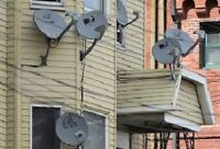 Removal of satellite dishes from your house