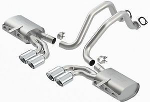 Brand New Supersprint 304 stainless exhaust for Corvette C5 C-5