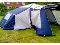 tent suncamp aps 3006 6 man vgc quick put up all poles etc