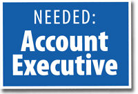 Sales/Account Executive Wanted