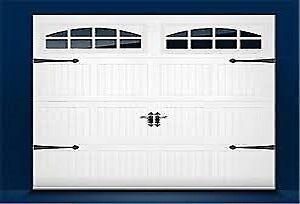 Garage Door insulated; Carriage; windows; installed $1099