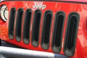 Rugged Ridge Insertions de grilles noires 07-16 Wrangler