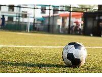 Sunday morning 5 a side football