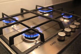 Gas Engineer Plumber - £29.99 Cooker installation & Certificate install Electric corgi hob oven fit