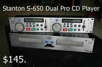 Stanon S-650 Pro Dual CD Player Units
