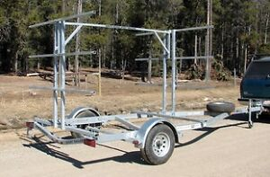 8 Place Canoe/16 Kayak Trailer with OPTIONAL storage boxes Yellowknife Northwest Territories image 4
