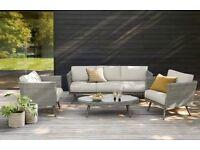 Next Taranto Sofa Set Grey