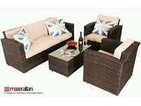 Brand new Maze Rattan Furniture Kingston 3Seater Sofa Set