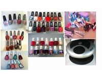 MANICURE AND PEDICURE POLISHES AND TOOLS
