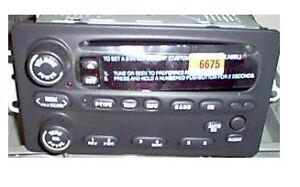 oldsmobile cd radio oem factory delco u1p stereo 22716675. Black Bedroom Furniture Sets. Home Design Ideas