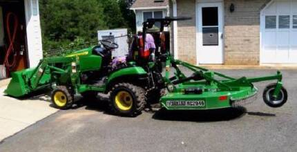 Tractor & Mini Digger Hire, Slashing, Fire breaks Mowing