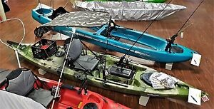 Brand new Leisure Fishing Kayak with trolley seat and canopy