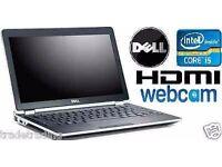 CHEAP Win 7 Dell Latitude E6320 Laptop Core i5 HDMI WEBCAM 4GB 320GB