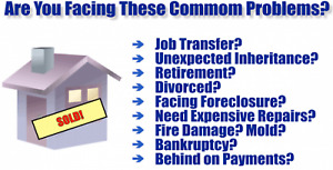 Quick Cash & Closing for your Home! Any condition.