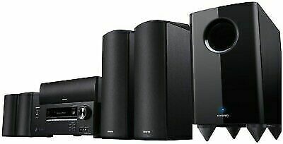 Onkyo HT-S670(b) 650 Watts 5.1 Channel Dolby Atmos Home Theater Package in Black Onkyo Wireless Home Theater System