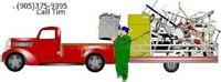 Cobourg man with a truck -  dump runs, moving etc