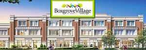 Boxgrove Village Markham's Best New Freehold Townhome Value