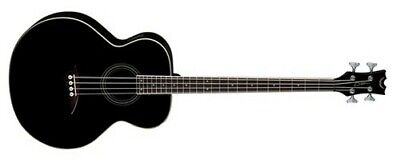 Dean EAB 4-String Acoustic-Electric Bass (Classic Black)