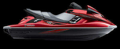 YAMAHA GRAPHIC KIT DECALS FX HO 2012-2018 RED GRAPHICS  WAVERUNNER FXHO for sale  Shipping to South Africa