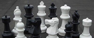 "MegaChess Giant Plastic Chess Set with a 12"" King"