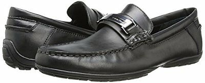 Calvin Klein Men's loafer Shoes Wallace Leather drivers Slip-On Shoes